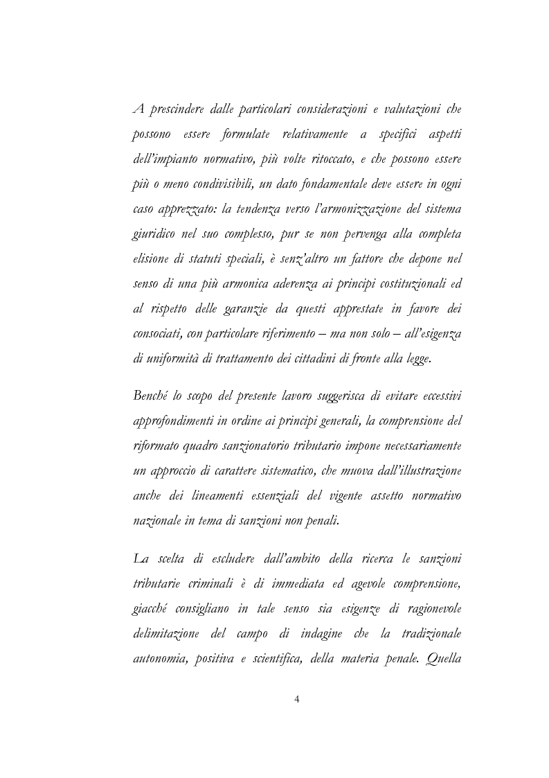 Anteprima della tesi: Sanzioni amministrative tributarie e principio di personalità, Pagina 2
