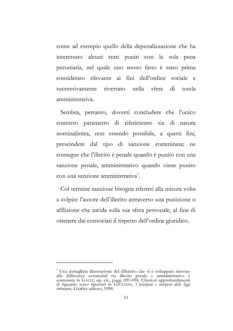 Anteprima della tesi: Sanzioni amministrative tributarie e principio di personalità, Pagina 9