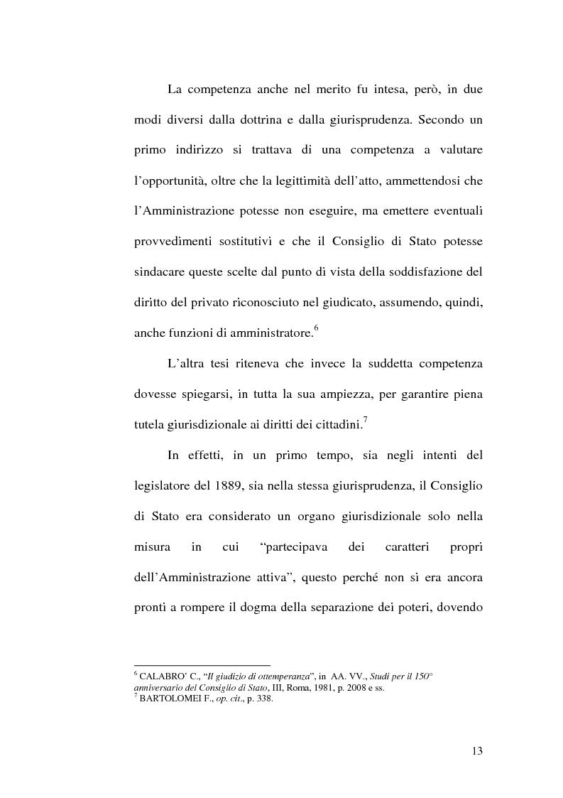 Anteprima della tesi: L'ottemperanza alle decisioni del giudice amministrativo dopo la legge n. 205 del 2000, Pagina 10