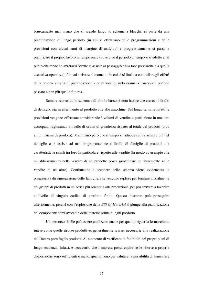 Anteprima della tesi: L'utilizzo del sistema informativo Sap R/3 per la programmazione e il controllo della produzione industriale: training e formazione del personale, Pagina 11
