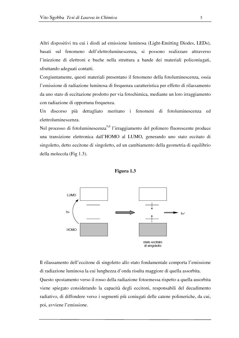 Anteprima della tesi: Metodologie di funzionalizzazione di composti organici coniugati: sintesi di sistemi modello, Pagina 4
