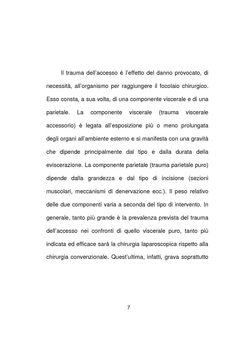 Anteprima della tesi: La chirurgia laparoscopica del cancro del retto, Pagina 5