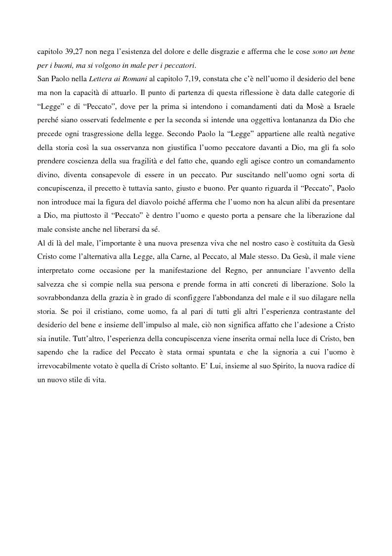 Anteprima della tesi: L'esorcismo. Confronto storico e interpretazione teologica dei rituali esorcistici per ossessi, Pagina 4
