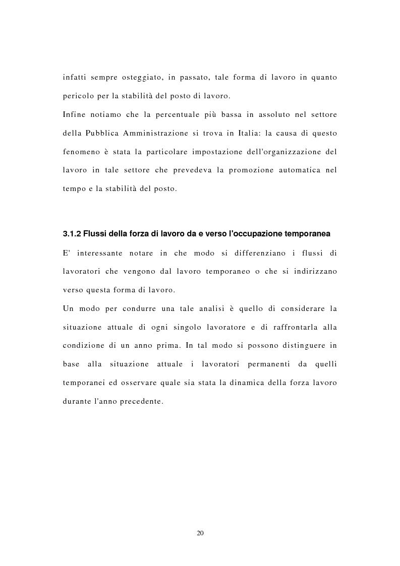 Anteprima della tesi: I contratti di lavoro atipici: conseguenze sulla domanda di lavoro, Pagina 13