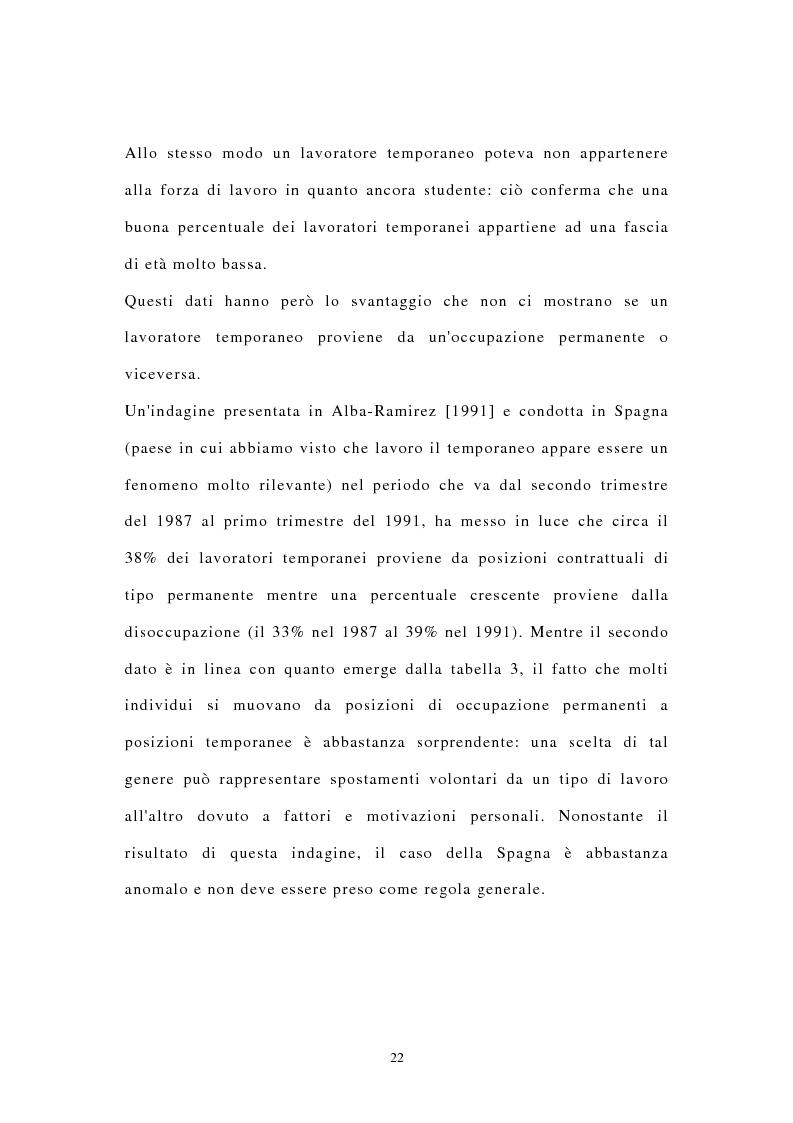 Anteprima della tesi: I contratti di lavoro atipici: conseguenze sulla domanda di lavoro, Pagina 15