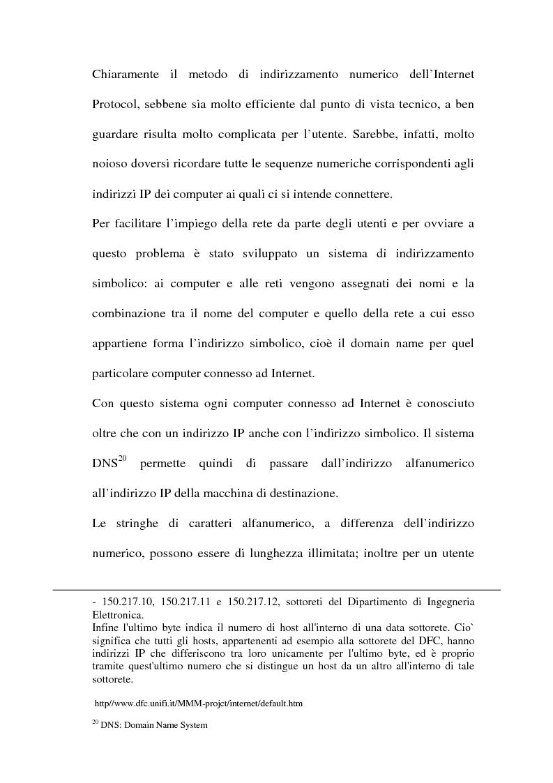 Anteprima della tesi: Domain name e la tutela del marchio, Pagina 14