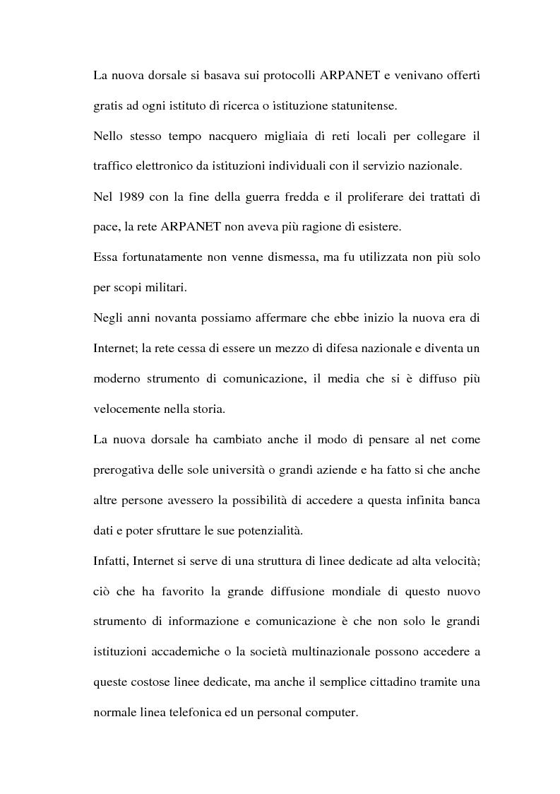 Anteprima della tesi: Domain name e la tutela del marchio, Pagina 6