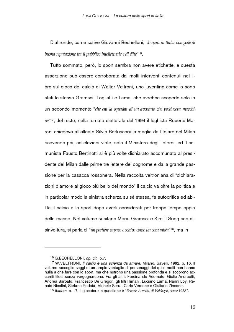 Anteprima della tesi: Il giornalismo sportivo a Genova, Pagina 14