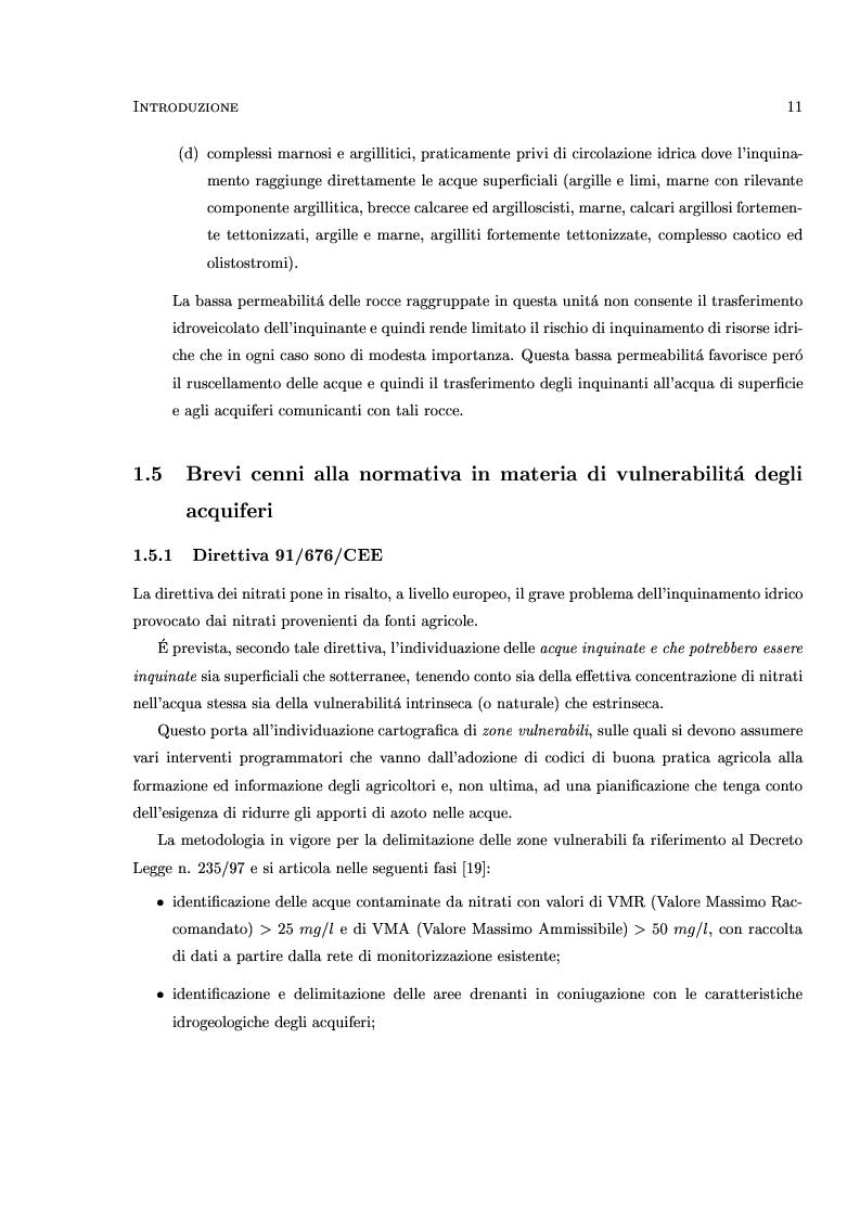 Anteprima della tesi: Caratterizzazione stocastica del sistema acquifero Évora-Montemor-Cuba, settore di Évora, Pagina 10