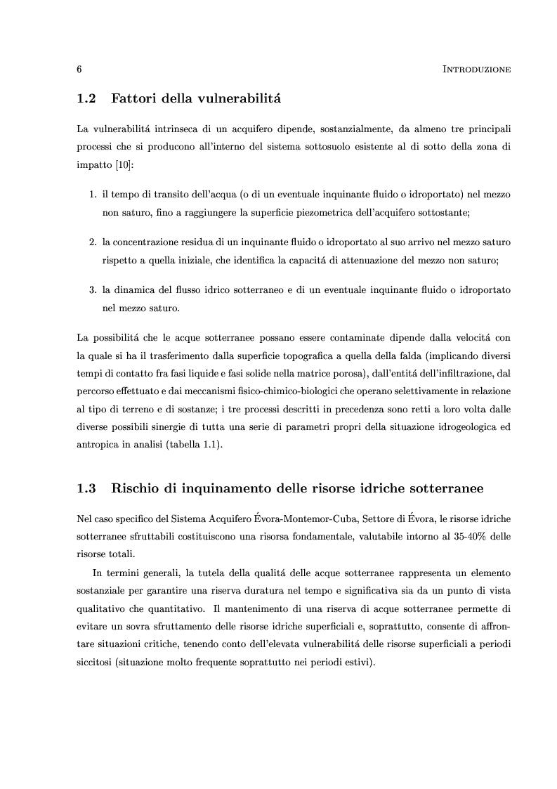 Anteprima della tesi: Caratterizzazione stocastica del sistema acquifero Évora-Montemor-Cuba, settore di Évora, Pagina 5