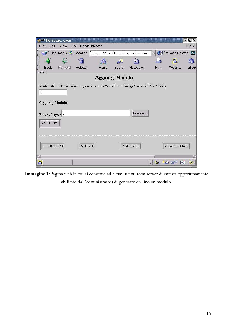 Anteprima della tesi: Sistema di posta elettronica certificato per l'invio e la ricezione di documenti e moduli Certified And Secured E-Governance (C.A.S.E.), Pagina 13