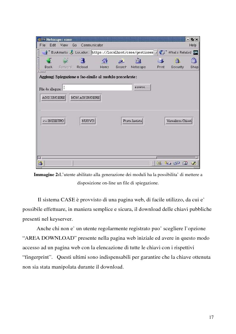Anteprima della tesi: Sistema di posta elettronica certificato per l'invio e la ricezione di documenti e moduli Certified And Secured E-Governance (C.A.S.E.), Pagina 14