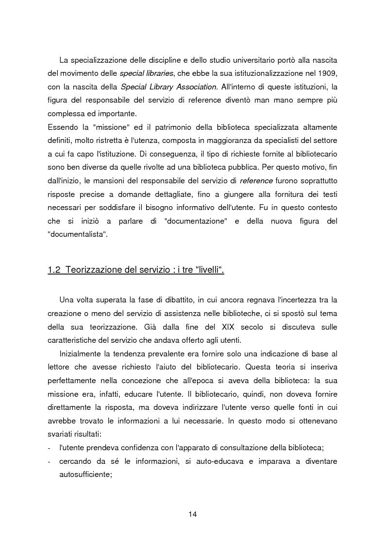 Anteprima della tesi: I servizi di assistenza agli utenti per l'accesso alla documentazione comunitaria europea, Pagina 10