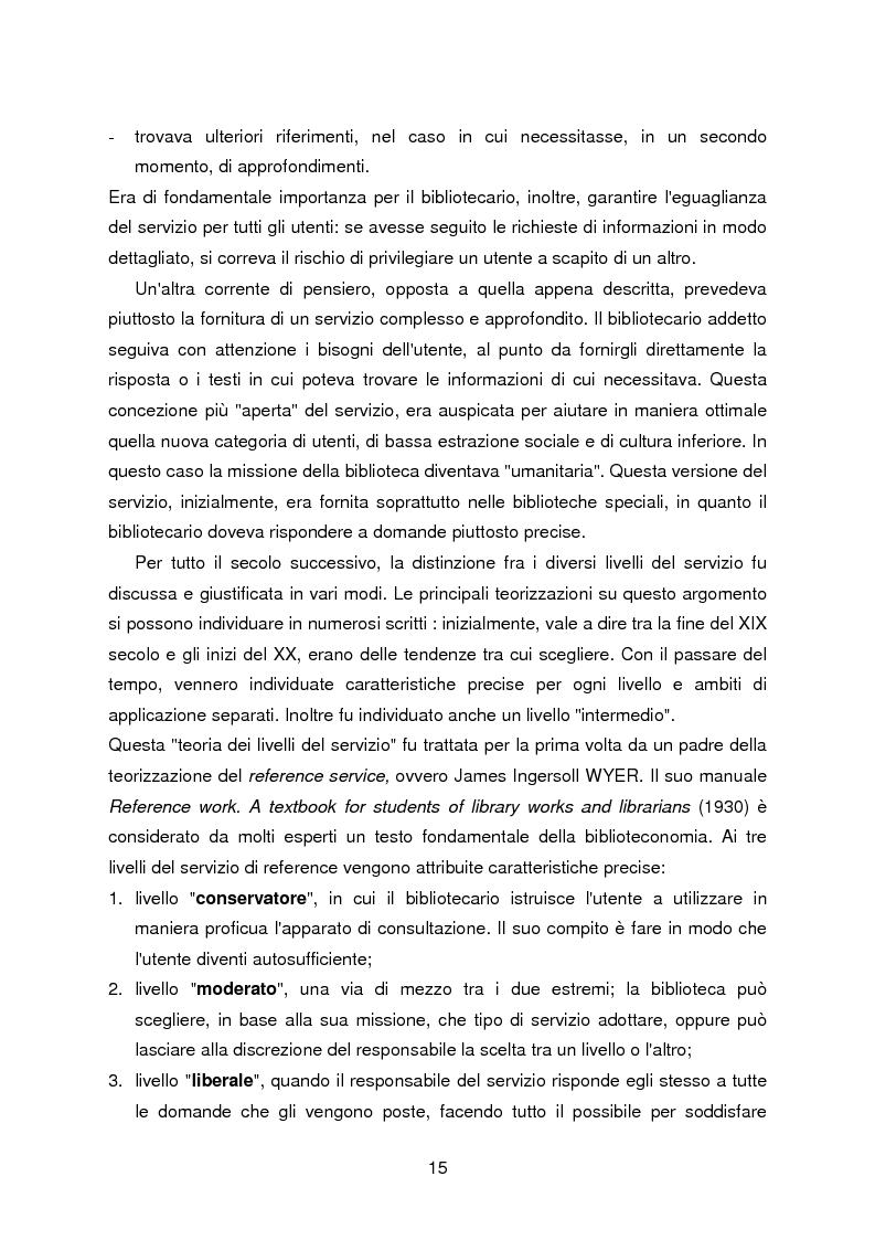Anteprima della tesi: I servizi di assistenza agli utenti per l'accesso alla documentazione comunitaria europea, Pagina 11