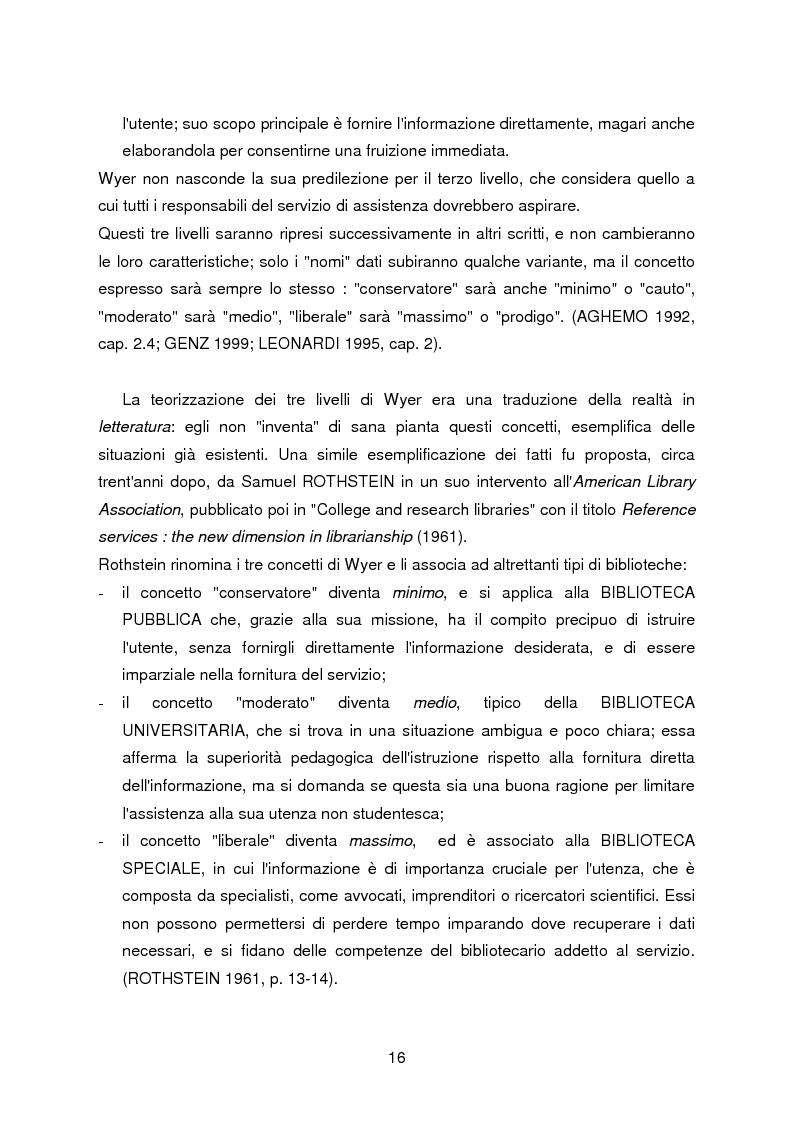 Anteprima della tesi: I servizi di assistenza agli utenti per l'accesso alla documentazione comunitaria europea, Pagina 12