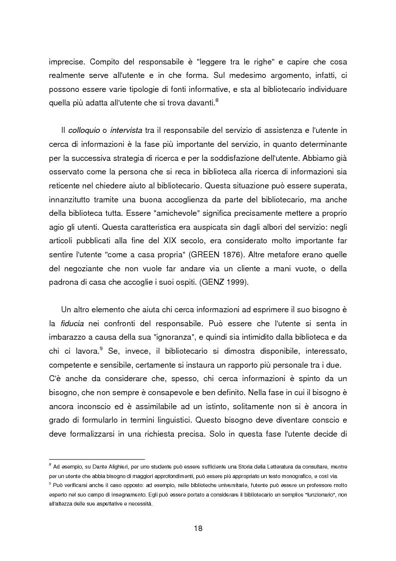 Anteprima della tesi: I servizi di assistenza agli utenti per l'accesso alla documentazione comunitaria europea, Pagina 14