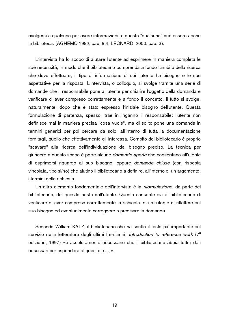 Anteprima della tesi: I servizi di assistenza agli utenti per l'accesso alla documentazione comunitaria europea, Pagina 15