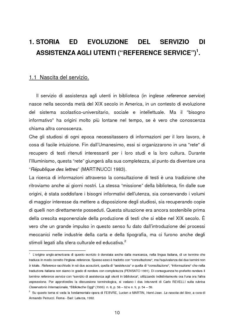 Anteprima della tesi: I servizi di assistenza agli utenti per l'accesso alla documentazione comunitaria europea, Pagina 6