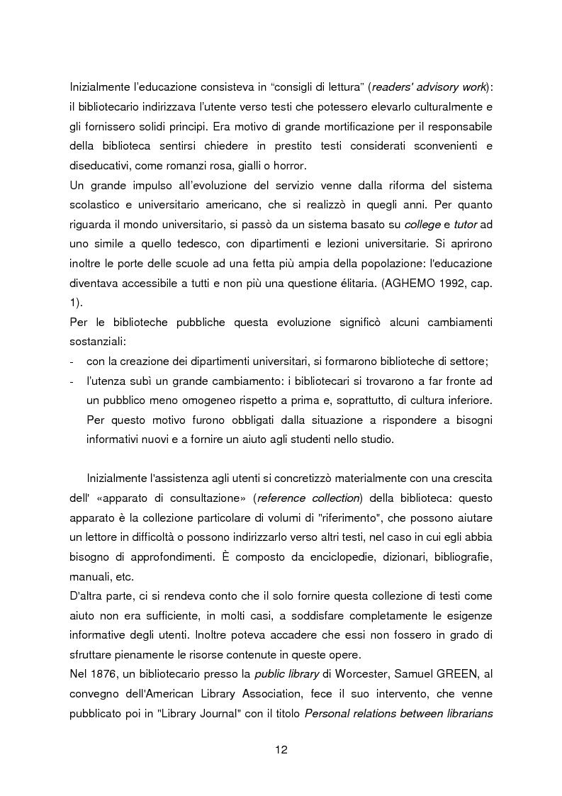 Anteprima della tesi: I servizi di assistenza agli utenti per l'accesso alla documentazione comunitaria europea, Pagina 8