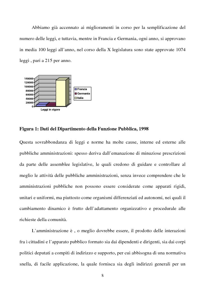 Anteprima della tesi: Il rapporto tra cittadino e pubblica amministrazione tra crisi e riforma. Il caso dell'U.R.P. del Comune di Padova, Pagina 8