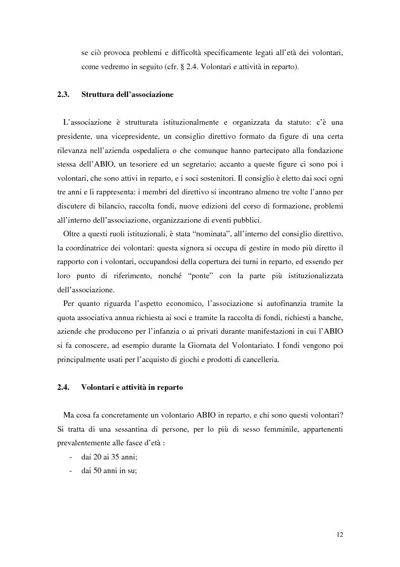 Anteprima della tesi: Aspetti narrativi dell'azione formativa. L'esperienza Abio, Pagina 15
