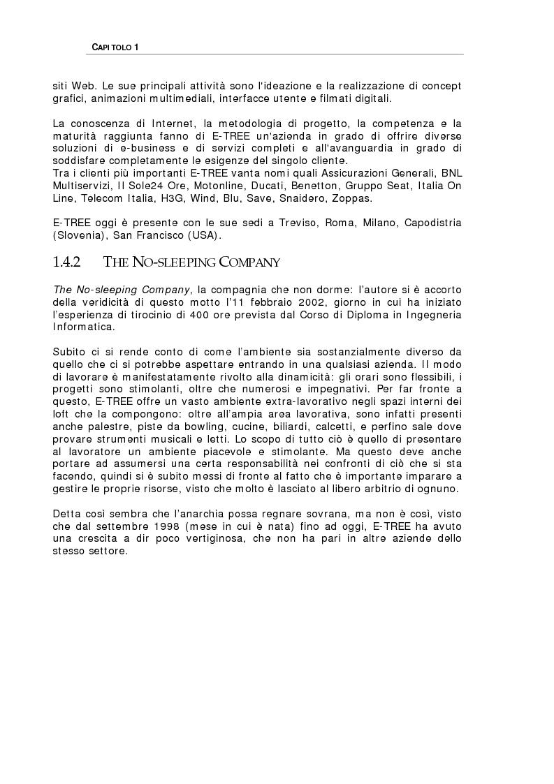 Anteprima della tesi: Studio delle problematiche legate alla realizzazione di una applicazione enterprise basata su Web Service, Pagina 4