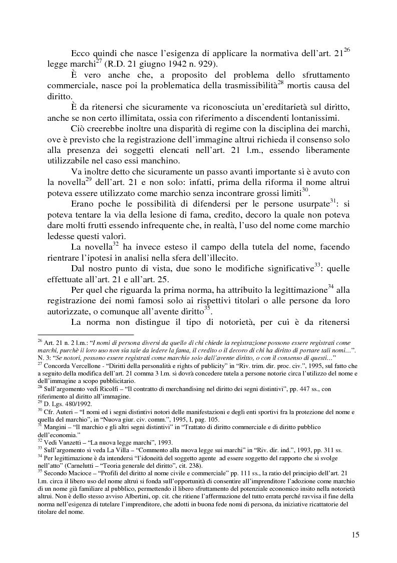 Anteprima della tesi: Nomi, marchi e nomi di dominio: un rapporto difficile, Pagina 11