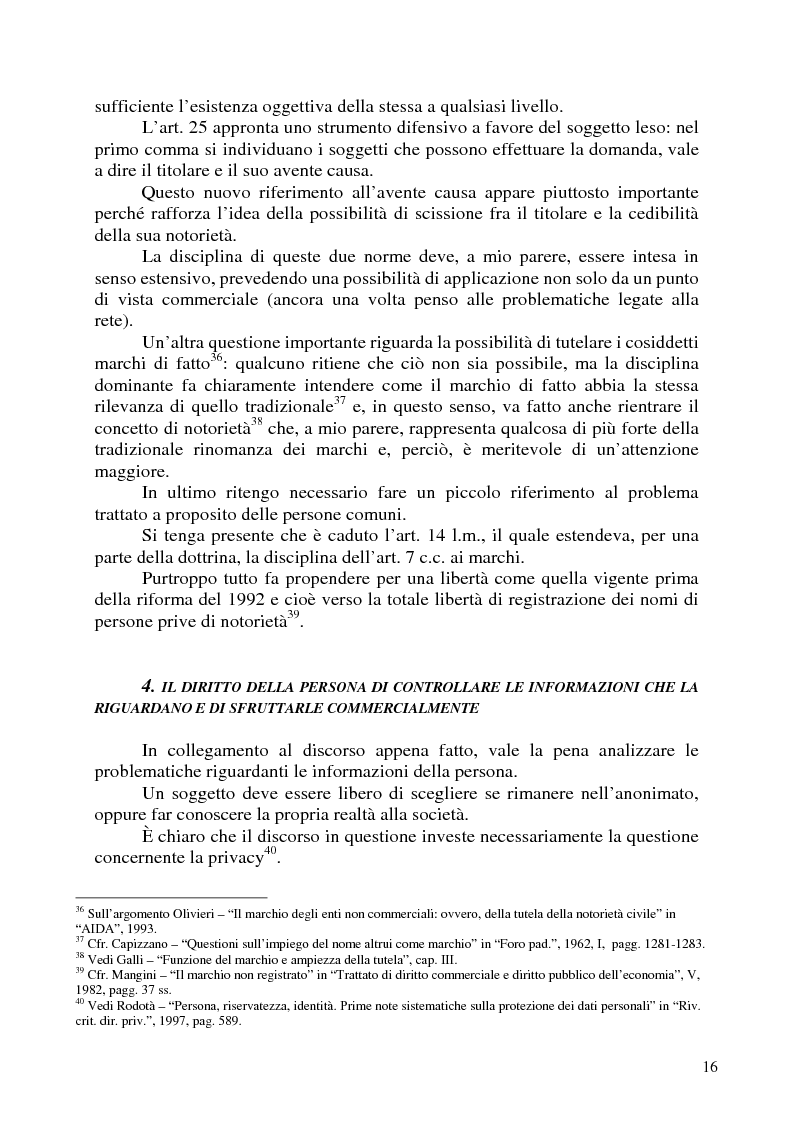 Anteprima della tesi: Nomi, marchi e nomi di dominio: un rapporto difficile, Pagina 12