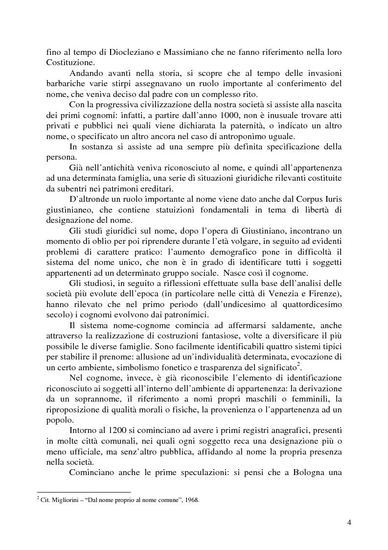 Anteprima della tesi: Nomi, marchi e nomi di dominio: un rapporto difficile, Pagina 2