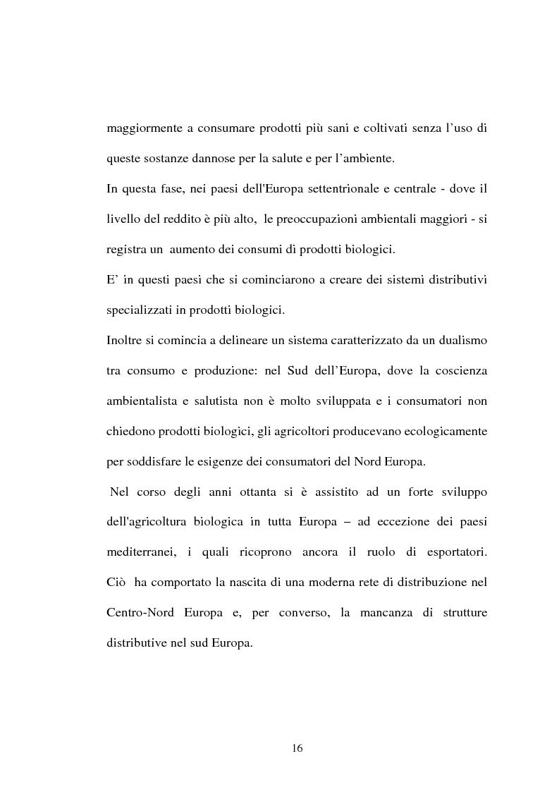 Anteprima della tesi: Agricoltura biologica: un nuovo modo di produrre e vendere, Pagina 15