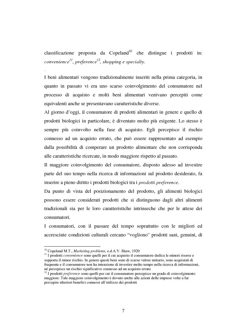 Anteprima della tesi: Agricoltura biologica: un nuovo modo di produrre e vendere, Pagina 6
