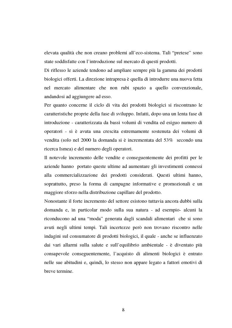 Anteprima della tesi: Agricoltura biologica: un nuovo modo di produrre e vendere, Pagina 7