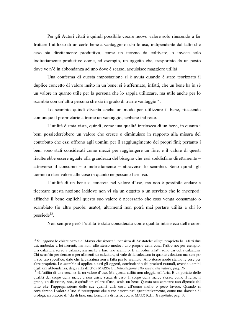 Anteprima della tesi: Il valore nella new economy. Un'analisi critica per la determinazione del capitale economico, Pagina 12
