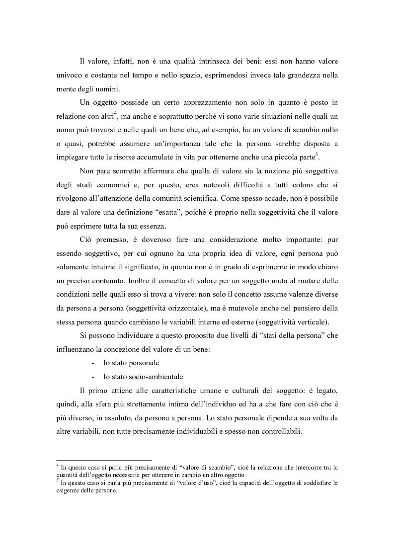 Anteprima della tesi: Il valore nella new economy. Un'analisi critica per la determinazione del capitale economico, Pagina 5