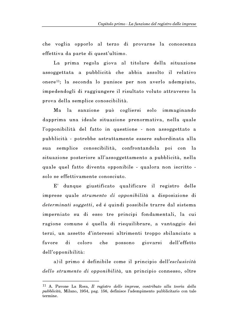 Anteprima della tesi: Il Registro delle Imprese ed, in particolare, il regime dei controlli; l'esperienza dell'ufficio del registro delle imprese di Torino, Pagina 13