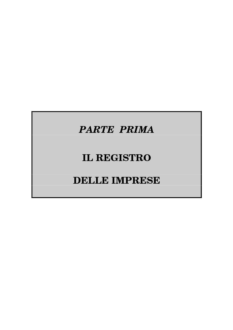 Anteprima della tesi: Il Registro delle Imprese ed, in particolare, il regime dei controlli; l'esperienza dell'ufficio del registro delle imprese di Torino, Pagina 4