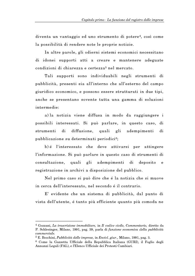 Anteprima della tesi: Il Registro delle Imprese ed, in particolare, il regime dei controlli; l'esperienza dell'ufficio del registro delle imprese di Torino, Pagina 7