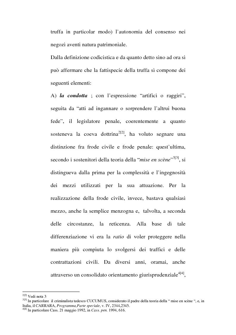 Anteprima della tesi: Art. 640-bis c.p.: Truffa aggravata per il conseguimento di erogazioni pubbliche, Pagina 7