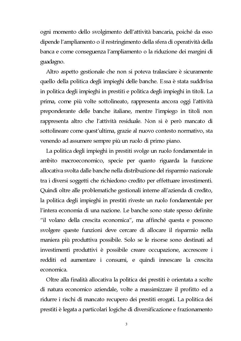 Anteprima della tesi: Evoluzione dell'attività bancaria e riflessi sulla struttura e organizzazione dei canali distributivi, Pagina 3