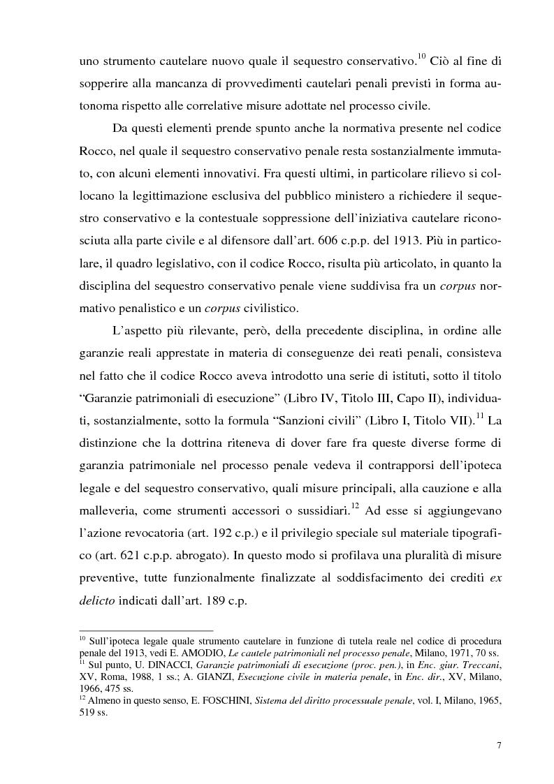 Anteprima della tesi: Il sequestro, Pagina 7