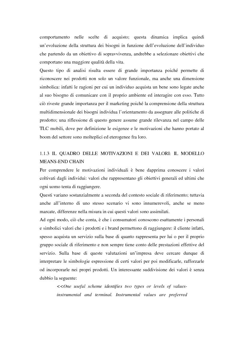 Anteprima della tesi: Strategie di sviluppo e competizione nel settore della comunicazione mobile, Pagina 11