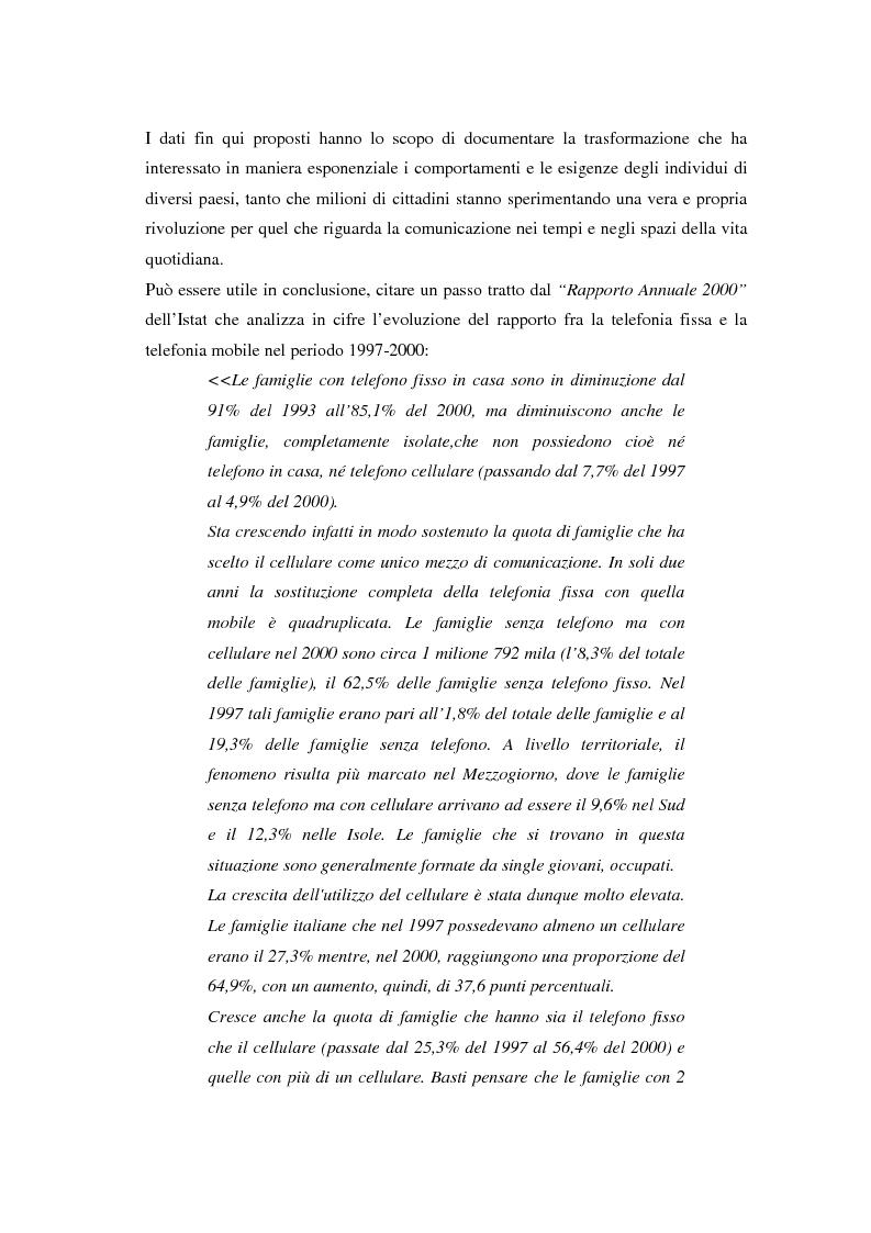 Anteprima della tesi: Strategie di sviluppo e competizione nel settore della comunicazione mobile, Pagina 8