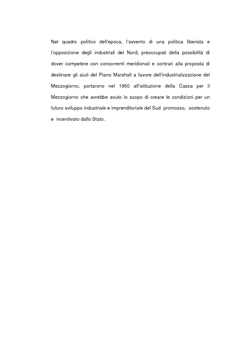 Anteprima della tesi: Un caso di sviluppo industriale: Gela e la sua area, Pagina 11