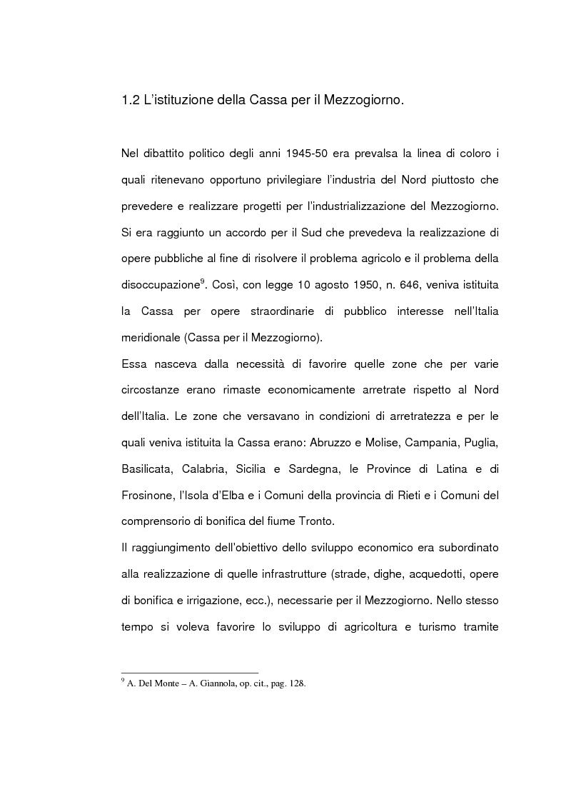 Anteprima della tesi: Un caso di sviluppo industriale: Gela e la sua area, Pagina 12