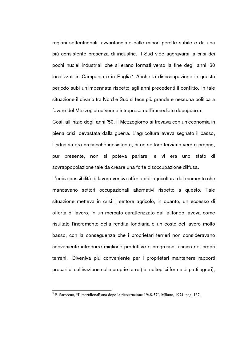Anteprima della tesi: Un caso di sviluppo industriale: Gela e la sua area, Pagina 7