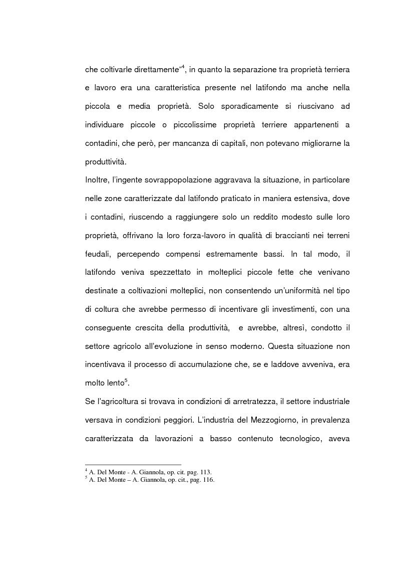 Anteprima della tesi: Un caso di sviluppo industriale: Gela e la sua area, Pagina 8
