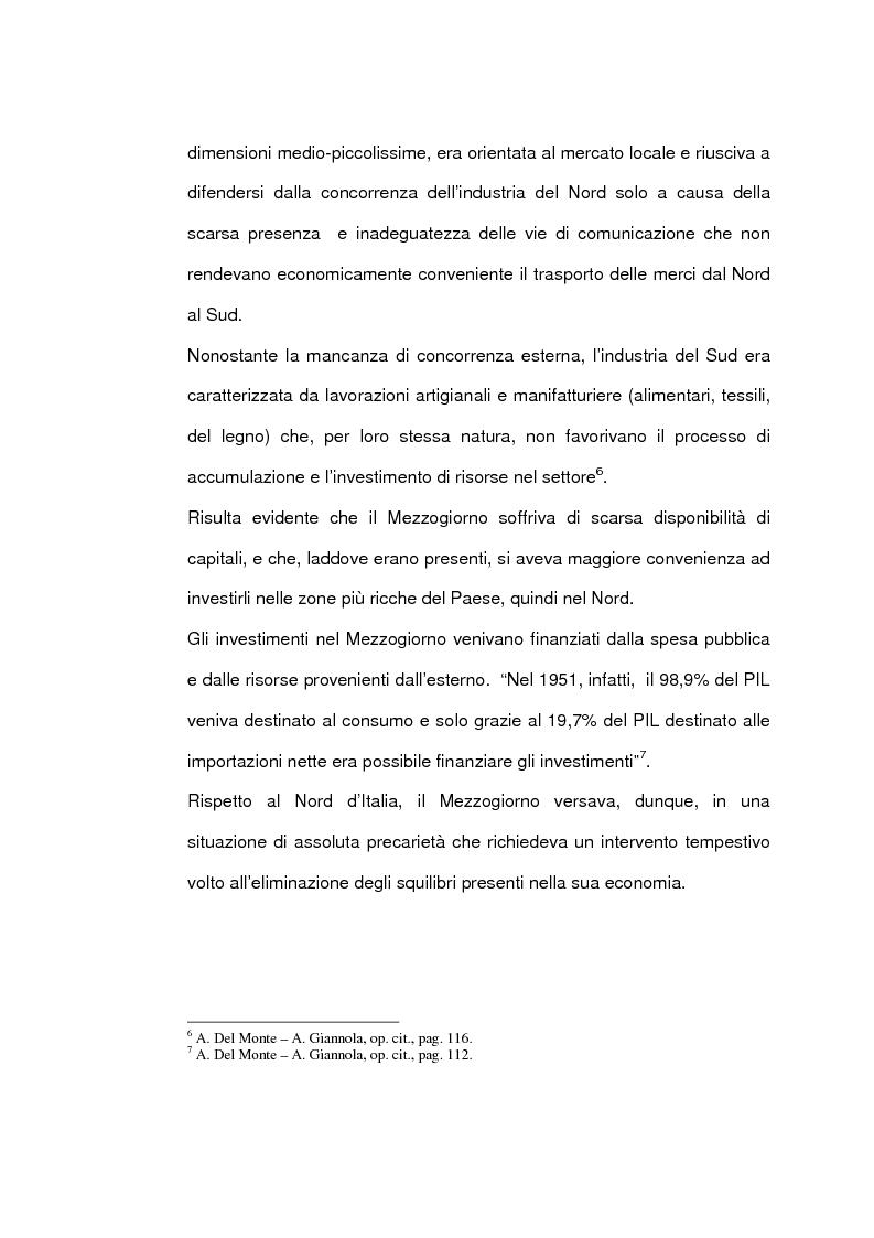 Anteprima della tesi: Un caso di sviluppo industriale: Gela e la sua area, Pagina 9
