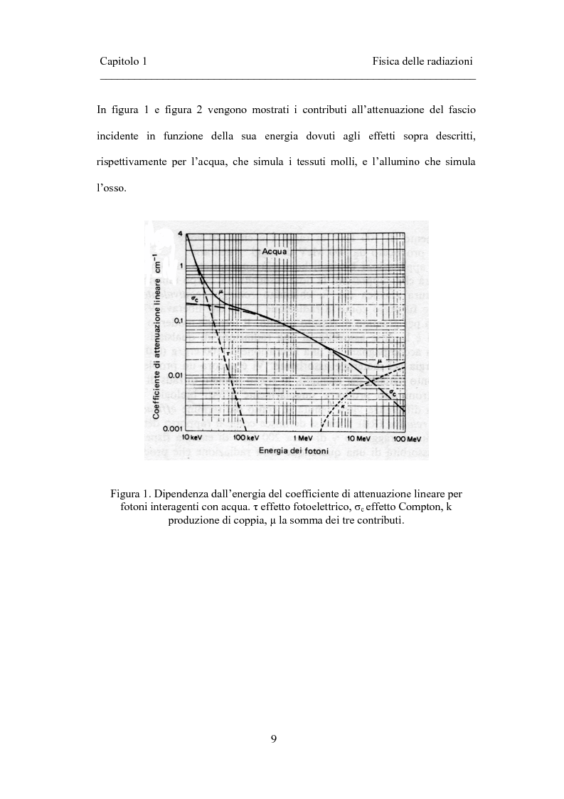 Anteprima della tesi: Dosimetria in vivo nei trattamenti radioterapici con fasci esterni, Pagina 7