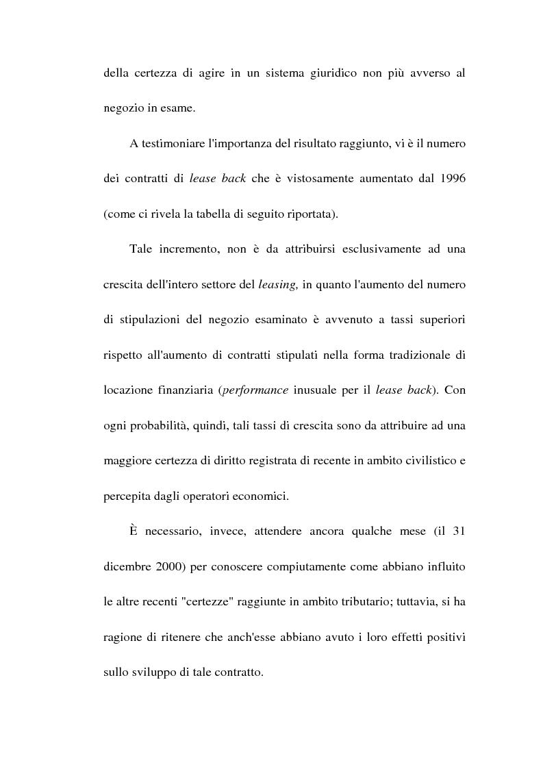 Anteprima della tesi: Profili giuridici del sale and lease back, Pagina 4