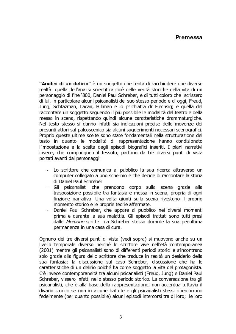Anteprima della tesi: Analisi di un delirio. Intorno a Schreber, Pagina 2